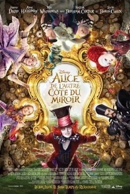 Alice de l'autre côté du miroir (2016)